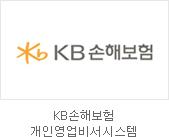 KB손해보험 개인영업비서시스템